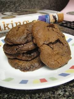 World peace cookies - double chocolate cookies from dorie greenspan's ...