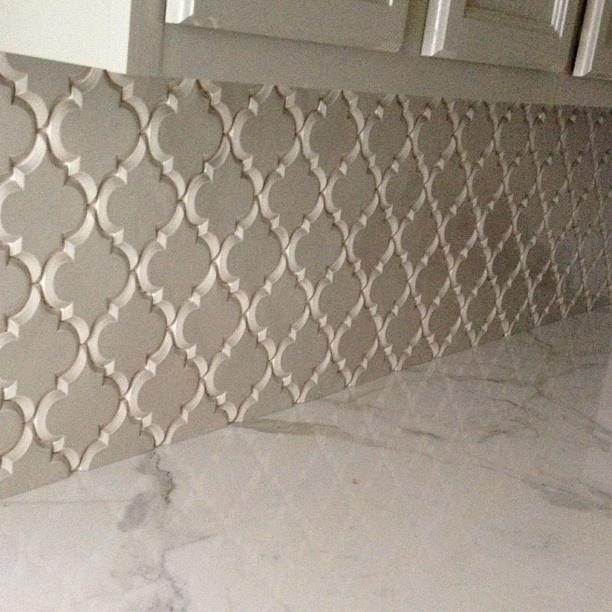 Vento Grey Arabesque Tile Ashland Kitchen Pinterest