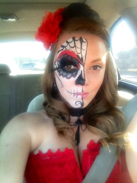 pin by brenda bourges on day of the dead face painting