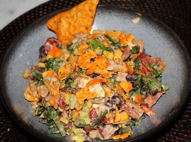 Cheesy Dorito Crunch Taco Salad   Food   Pinterest
