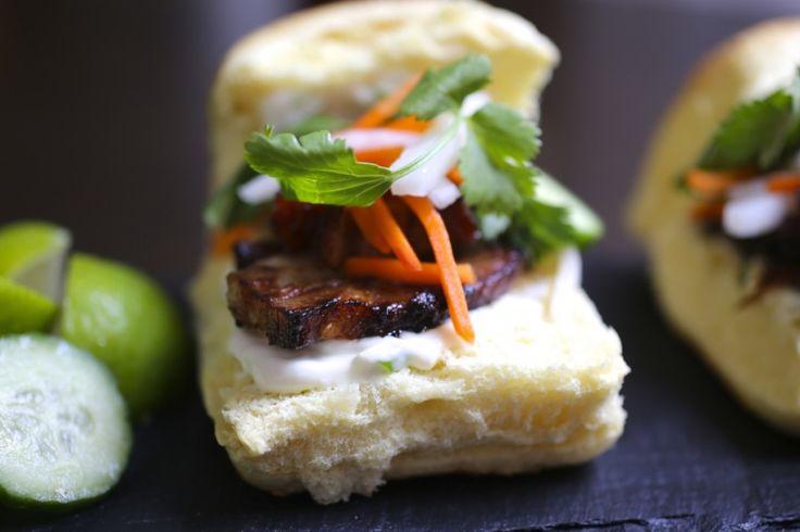 Pork Belly Bánh mì Sliders | Banh Mi Madness | Pinterest