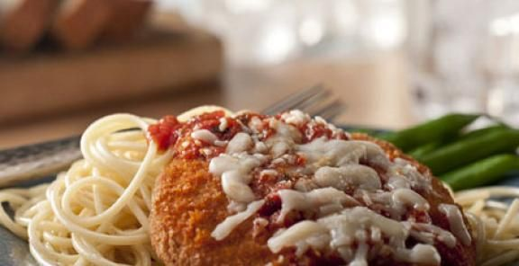 Baked Chicken Cutlets Parmesan | KitchenDaily.com