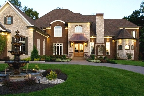 Beautiful dream house dream home pinterest for Beautiful dream house pictures
