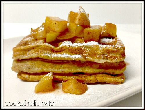 Cinnamon-Sugar Waffles: Cookaholic Wife | Brunch/Breakfast Recipes ...