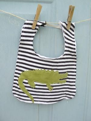 Baby Bibs Patterns on Pinterest