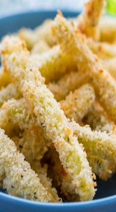 Crispy oven-baked green bean fries | Recipe