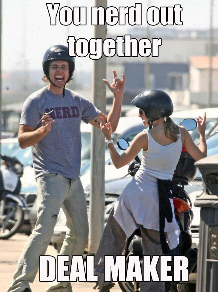 You nerd out together | quotes and humor | Pinterest