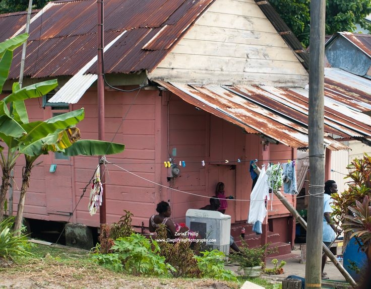 Still standing things you would see in trinidad tobago for Trinidad houses