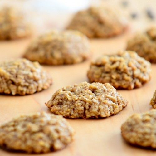 Chewy Coconut Oatmeal Cookies HealthyAperture.com | Recipes ...