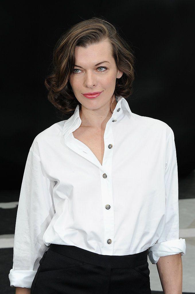 Milla Jovovich Hair Lob