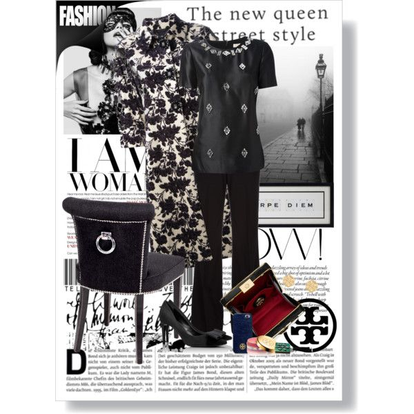 """Tory in B & W"" by stacey-yecats on Polyvore"