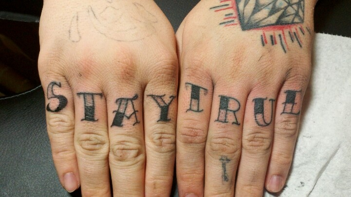 Stay true tattoos i ve done pinterest