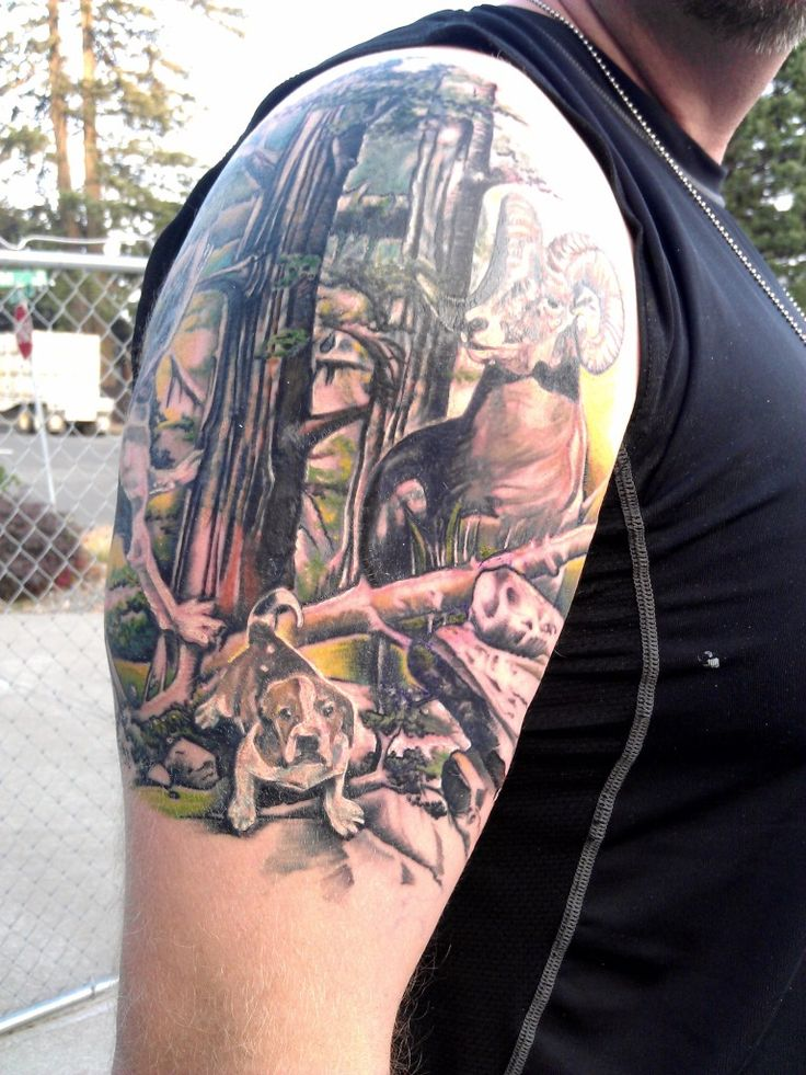 Hunting tattoos hunting tattoos tatoos pinterest for Hunting and fishing tattoos