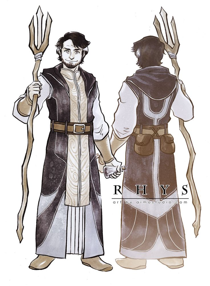 Aimo's Sketch Cards - Dragon Age: Asunder Character Design Commission - Rhys