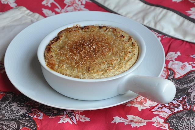 Bruleed Baked Oatmeal | Cake for Breakfast | Pinterest