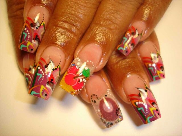 COOL FR MANICURE!!! | French Manicure | Pinterest