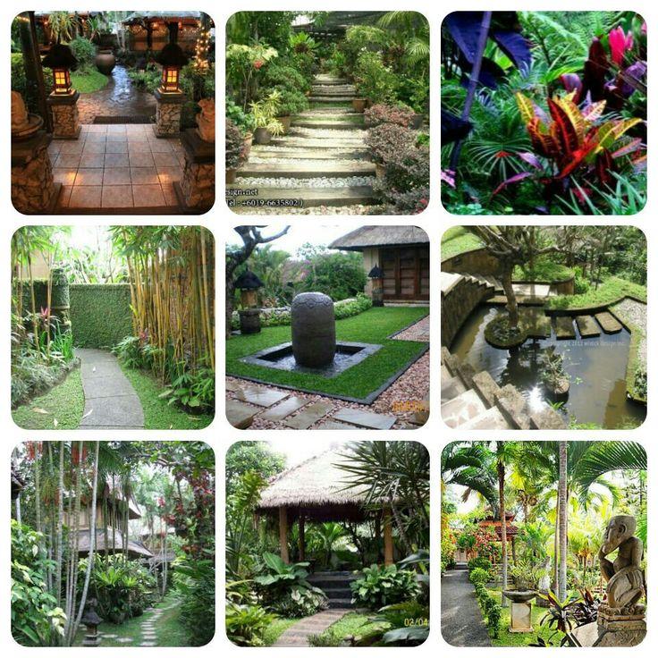Balinese gardens the great outdoors pinterest for Design my own garden