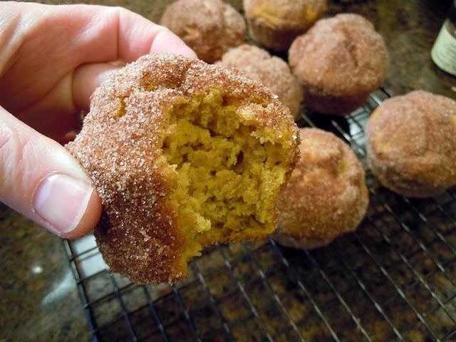Pumpkin doughnut muffins | Recipes to Try | Pinterest