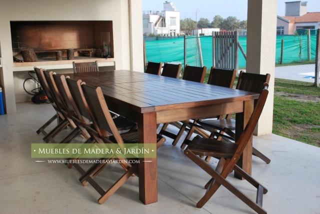 Mesas para galerias y patios mesas pinterest for Mesas y sillas para patios