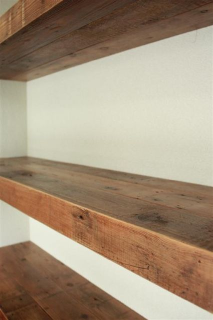 Thick old wooden shelves | police | Pinterest