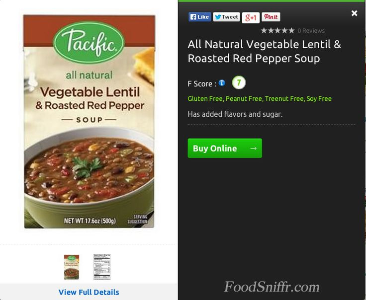 Healthy choice soup gluten free