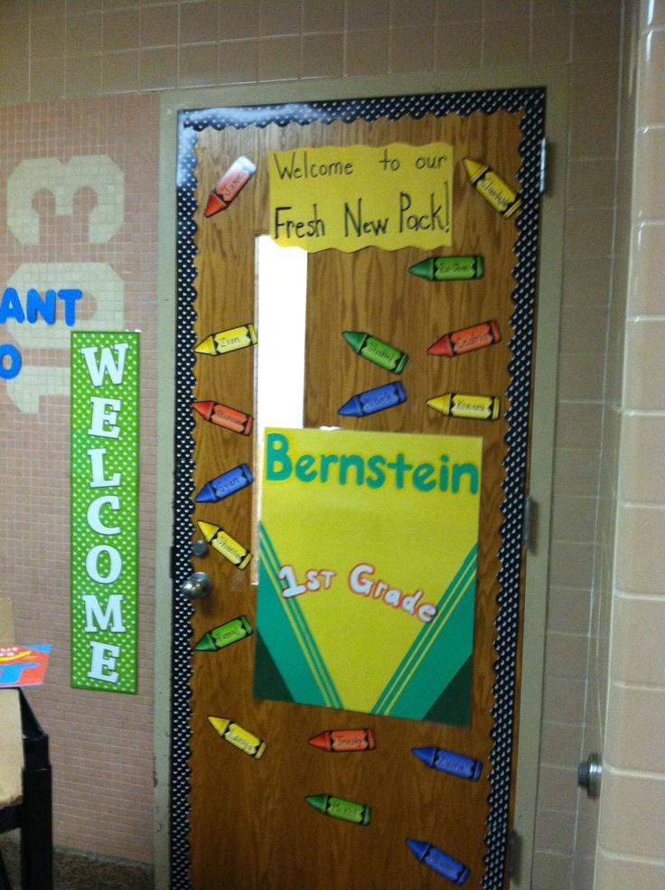Back to school door idea school stuff pinterest - Back to school door ideas ...