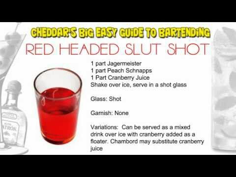 Alcohol red headed slut