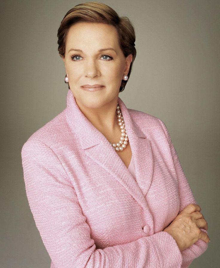 Julie Andrews. Words cant begin to describe how amazing this woman is.