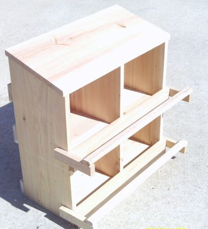 Chicken Nest Boxes I Could Build One Like This Pinterest