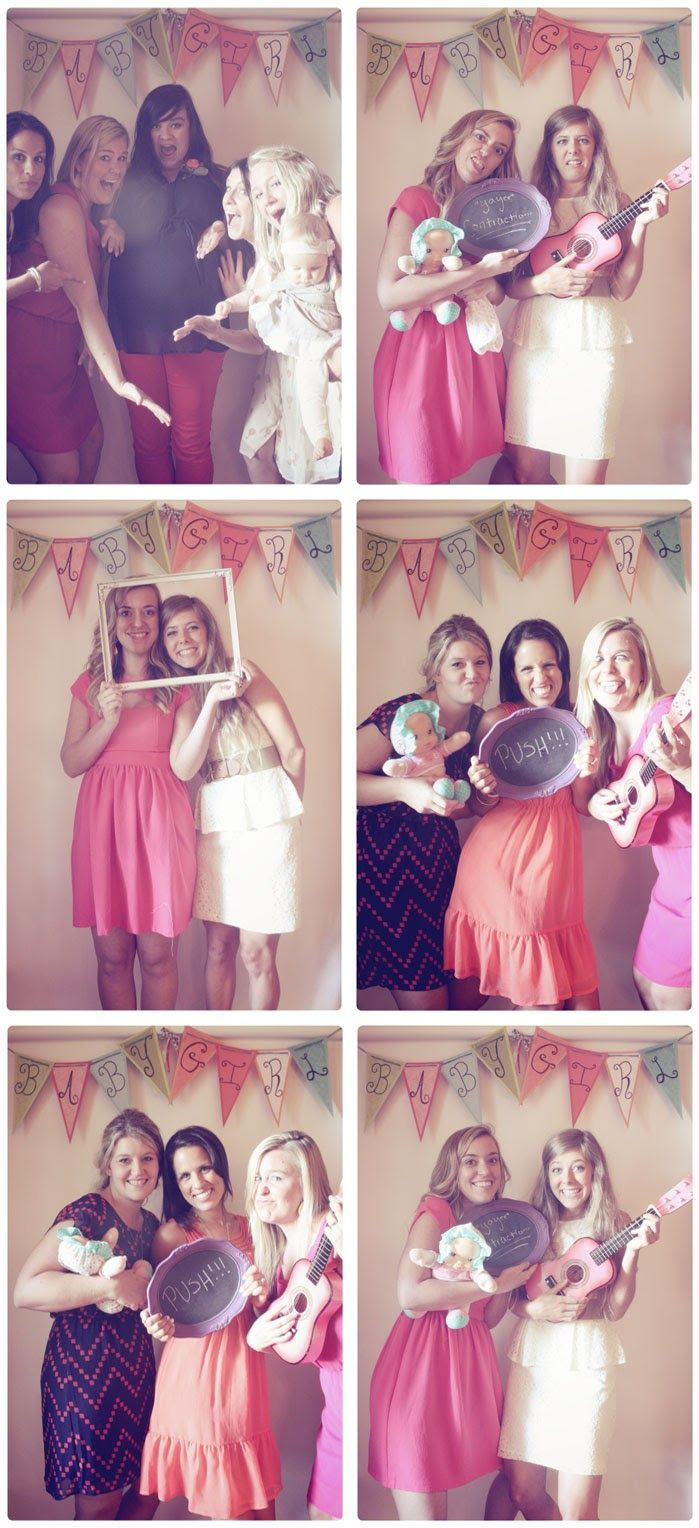 baby shower photo booth lalalynn photography props pinterest