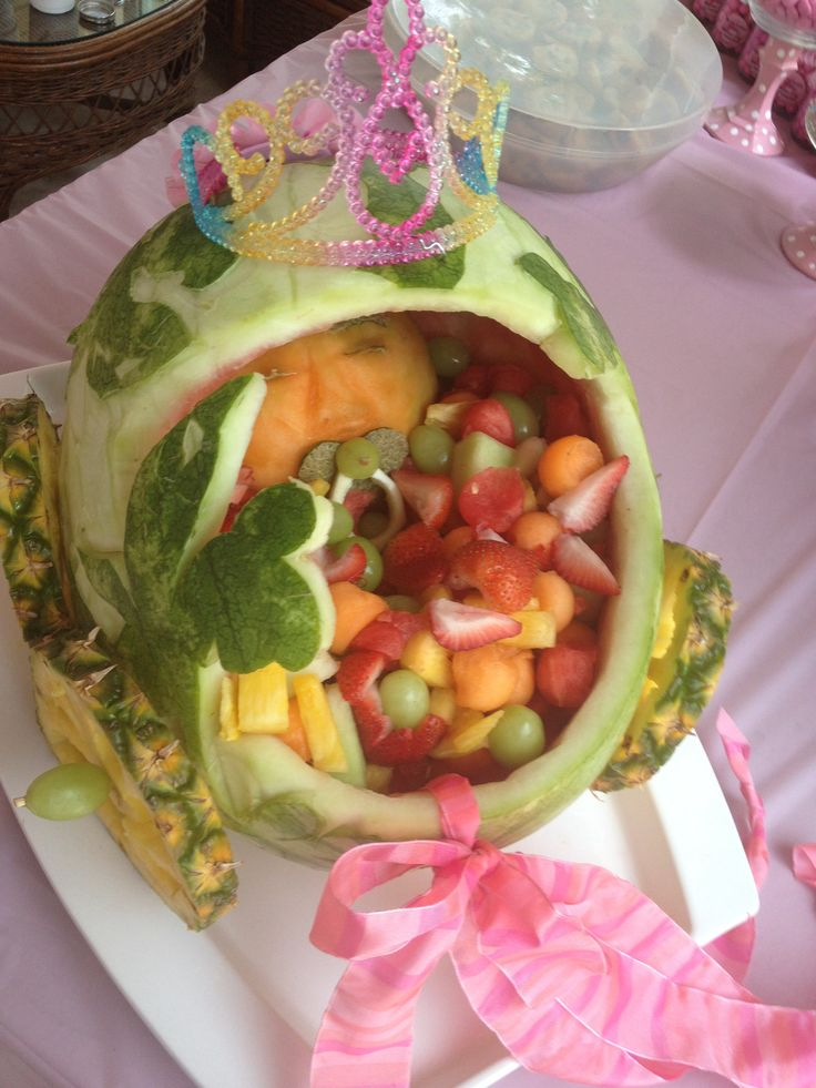 watermelon carving for baby shower baby shower pinterest