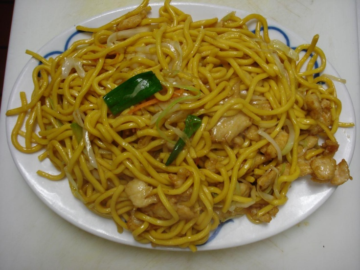 chicken lo mein♥ | ~all the yummies~ | Pinterest
