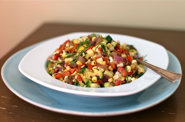 grilled vegetable salad #recipes | Recipies | Pinterest
