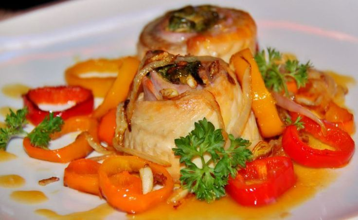 "Tilapia with Pimento Sauce | ""Mainly Yummy"" 