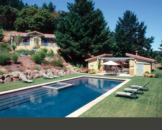 Houzz pool lap pool design my new home ideas pinterest for Pool design houzz