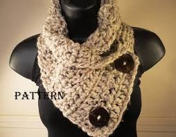 scarf cowl crochet pattern on Etsy, a global handmade and