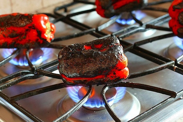 Marinated Roasted Red Peppers | Foods ... to die for | Pinterest