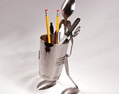 Pencil Shaker Stand - Spoon