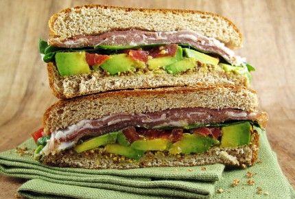 Prosciutto, Avocado, Arugula, and Tomato Sandwich | Recipe