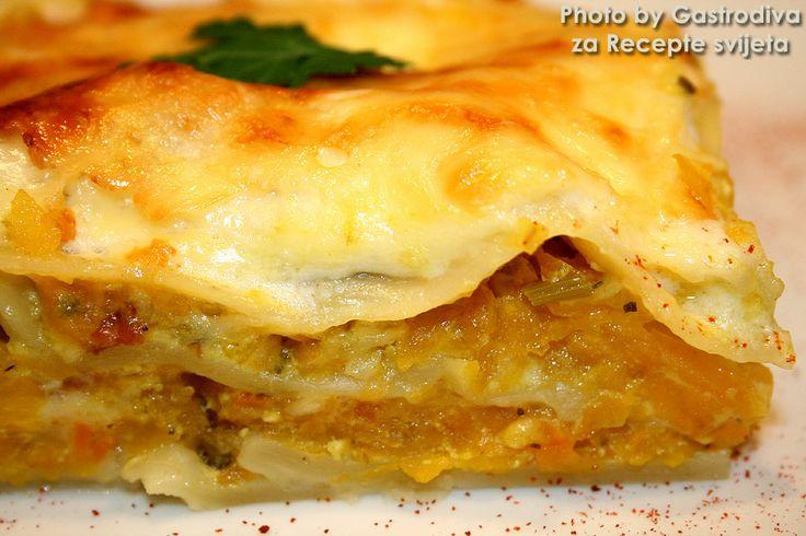 Pumpkin Lasagna | Njami | Pinterest
