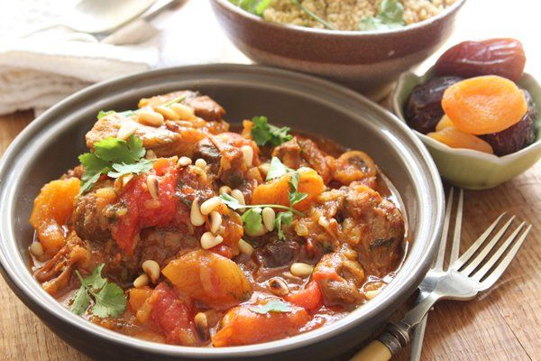 Lamb tagine with dates and apricots | Food, Glorious Food! | Pinterest