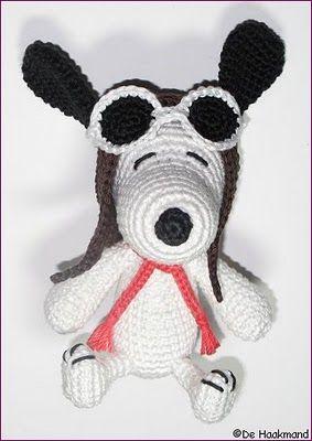 Amigurumi Stuffing Alternatives : Snoopy Amigurumi Pinterest