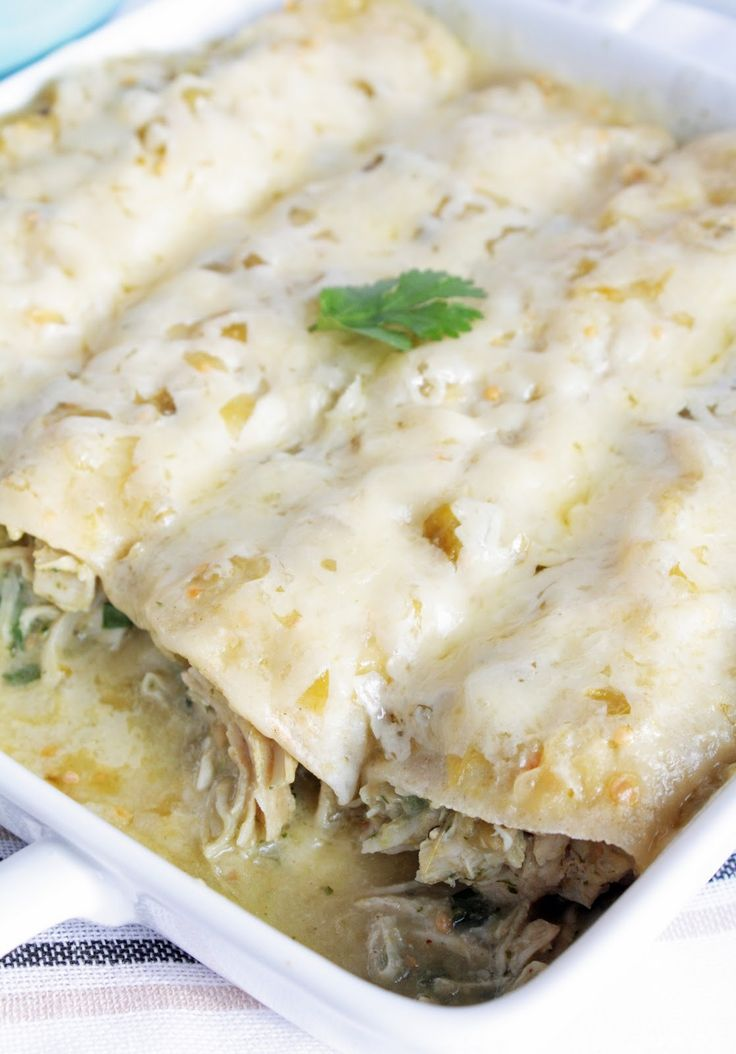 The Whole Enchilada—Chicken that is!