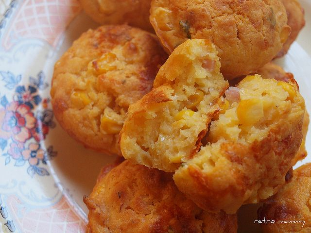 cheese, corn and bacon muffins | health/meals/ect. | Pinterest