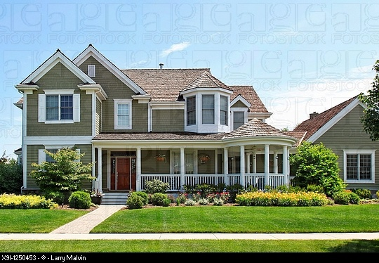 More green siding home appeal pinterest for Green siding house