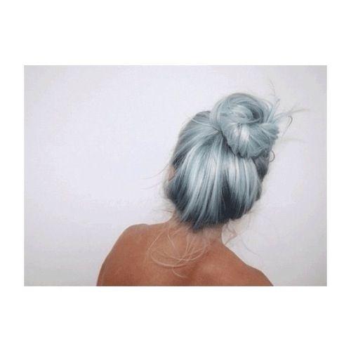 Light blue hair via tumblr | Dream wardrobe | Pinterest