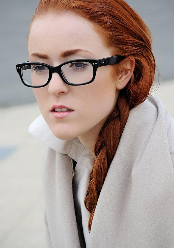redhead in glasses PHOTO: boys/girls redhead Pinterest