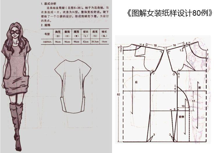Сшить свободное платье  без выкройки