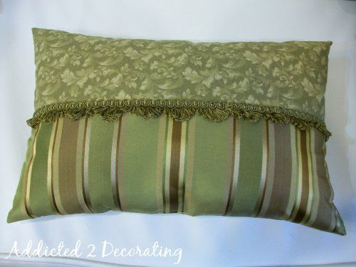Decorative Pillow Sewing : Simple Decorative Pillow Sewing Pinterest