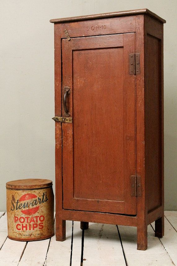 Industrial Rust Color Indian Storage Bar Kitchen Bathroom Cabinet